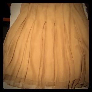 Burberry silk skirt